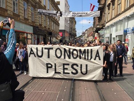 Autonomija plesu!, Ilica 10, Zagreb, 18. svibnja 2016.