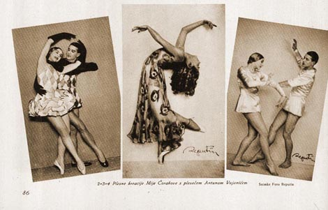 Plesna scena - Apsolutna glazba za slobodu pokreta